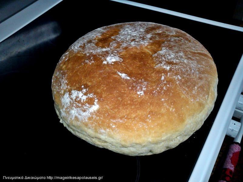Ψωμί νέα συνταγή (δική μου)