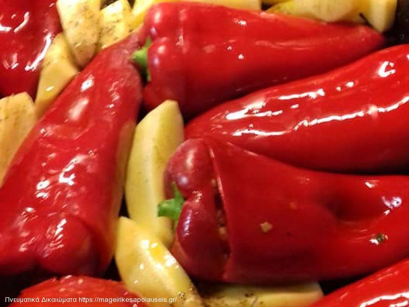 Γεμιστές πιπεριές Φλωρίνης
