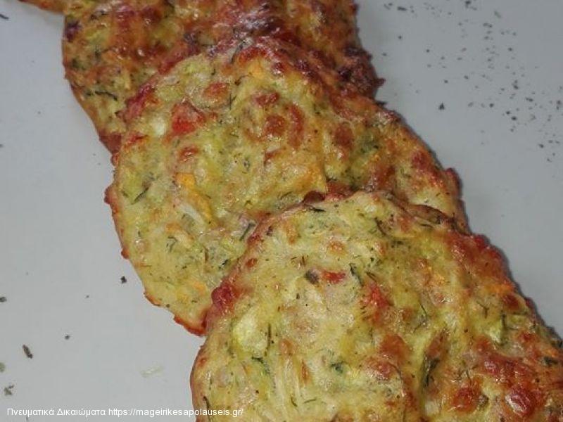 Κολοκυθοκεφτεδες στο φούρνο