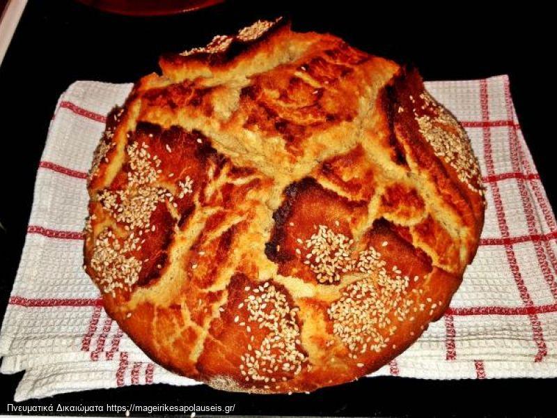 Ψωμι γαστρας με γιαουρτι (δικη μου συνταγη)
