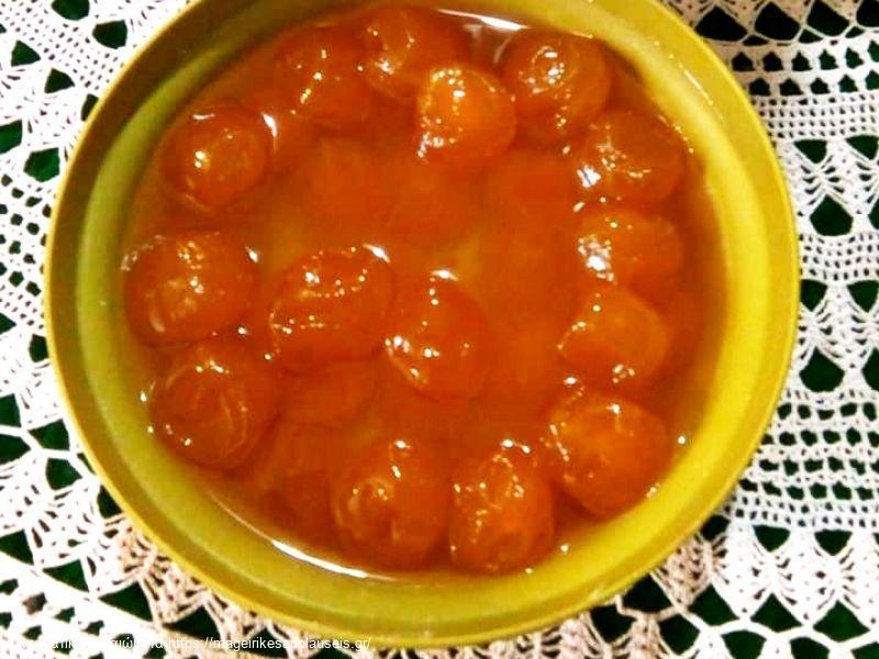 Βερίκοκο γλυκό κουταλιού
