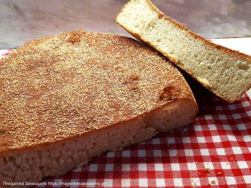 Ψωμι χωρις ζυμωμα (της γιαγιας)