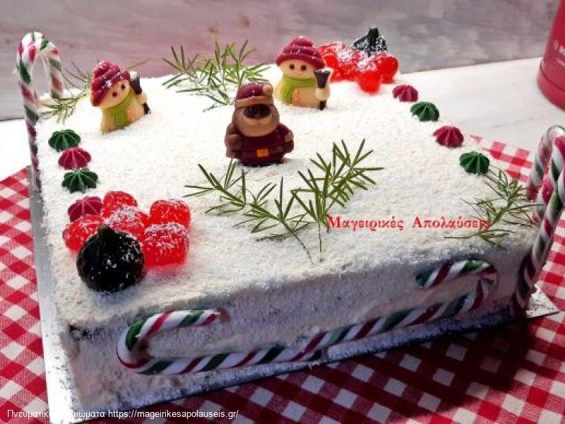 Χριστουγεννιάτικο κέικ η κέικ εορτών