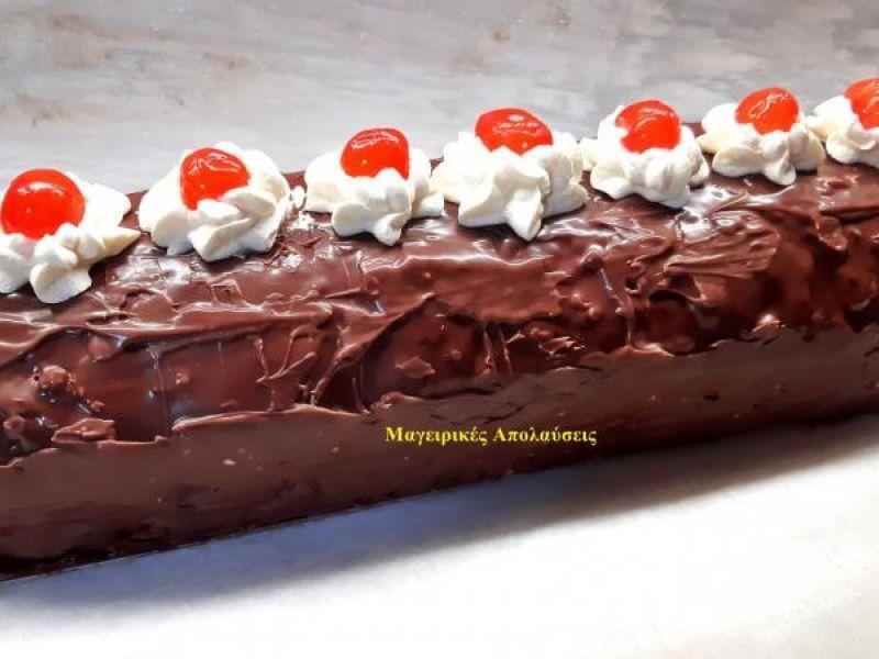 Πάστες σοκολατίνες με καβουρδισμένο φουντούκι χωρίς ειδικά εργαλεία