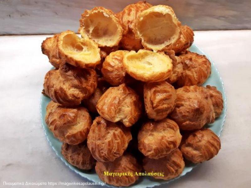 Σουδάκια ουδέτερη ζύμη για αλμυρή η γλυκιά γέμιση