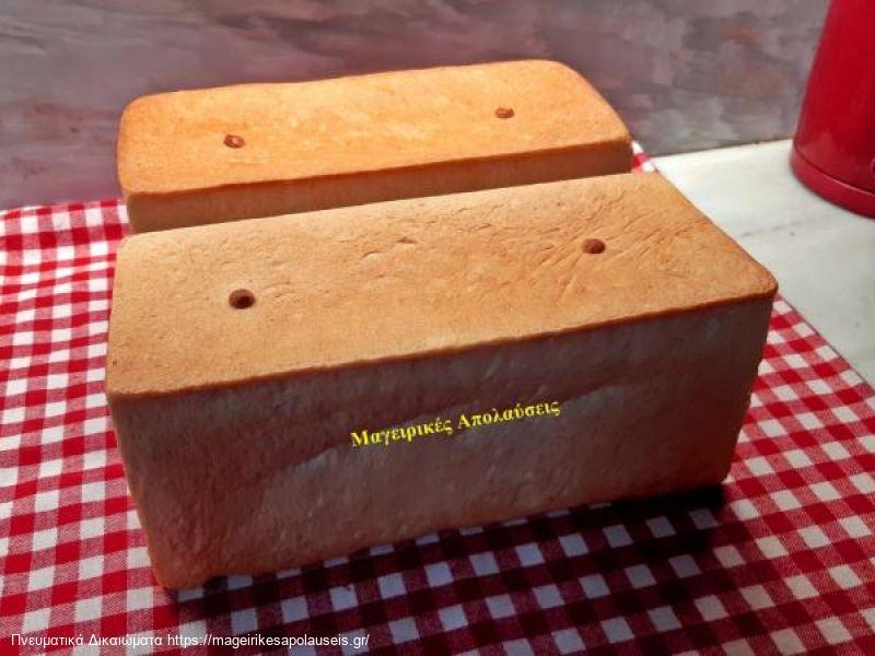 Ψωμί του τόστ πανεύκολο και χωρίς συντηρητικά.