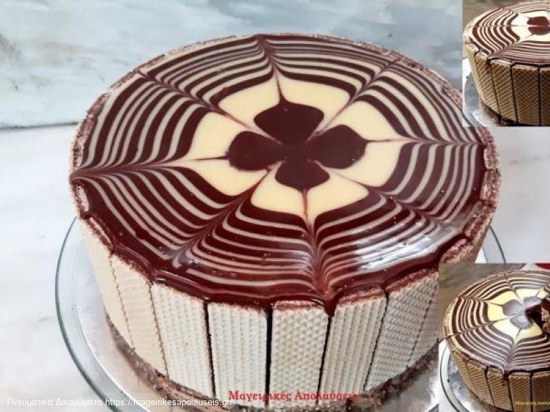 Πανεύκολη τούρτα με τρία υλικά μόνο.