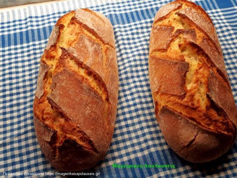 Ψωμί χωρίς ζύμωμα, χωρίς γάστρα, χωρίς μεγάλες αναμονές. Με νέα τεχνική δική μου.