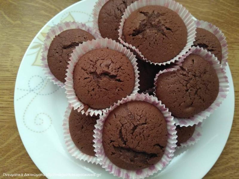 Cupcake (κάπκεικ) 3 γεύσεων