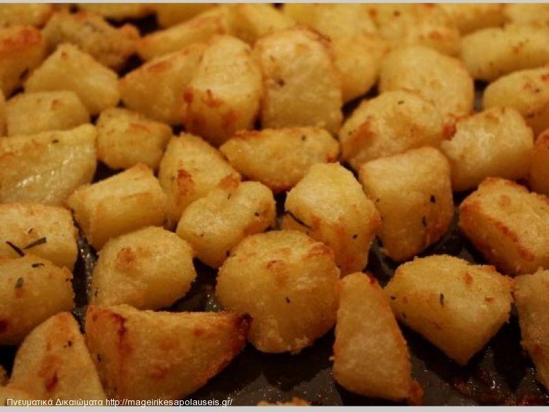 Οι πιο τέλειες πατάτες φούρνου